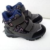 Детские ботинки на холодную осень ,тёплую зиму 33
