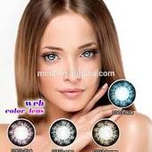 цветныe контактные линзы Magic eye:Цвет только Fresh зеленый