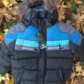 Зимняя куртка на мальчика 6-7 лет Adidas
